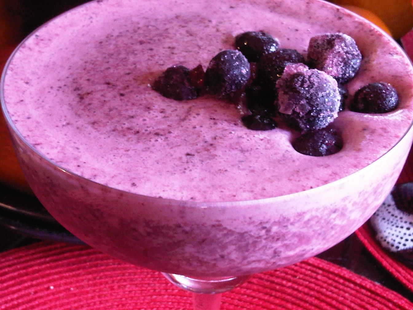 ... MORE: Blueberry Pomegranate Pomegranate Blueberry Juice Smoothie
