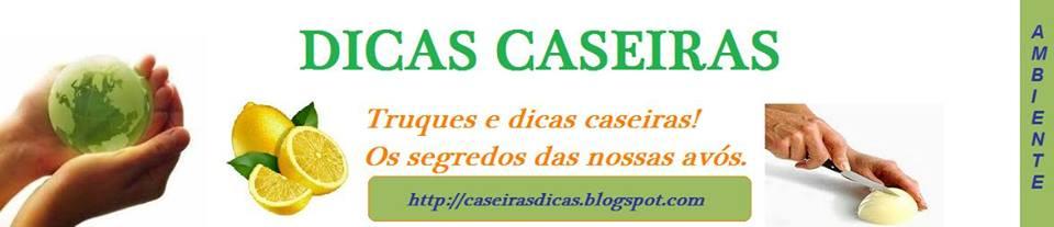 DICAS CASEIRAS
