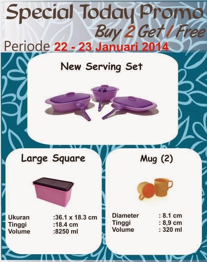 Promo Tulipware 22 dan 23 Januari 2014