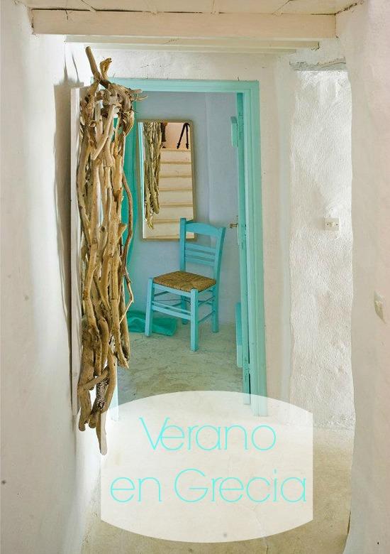 Decoracion Griega Interiores ~ Casa Tradicional Griega  La Bici Azul Blog de decoraci?n