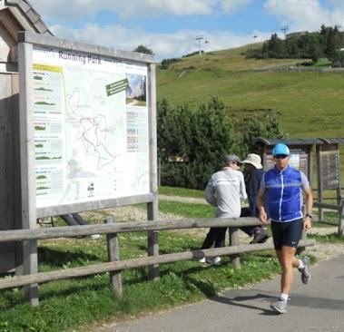 Runningpark Alpe di Siusi