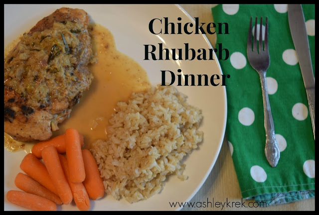 Chicken Rhubarb