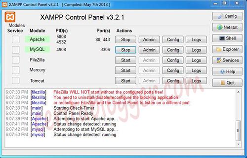 install-xampp-server