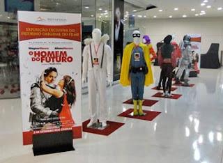 Exposição do figurino de O Homem do Futuro