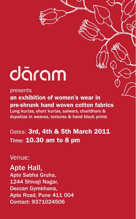 Daram darams first exhibition of womens garments in pune darams first exhibition of womens garments in pune stopboris Image collections