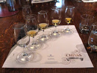 whisky tasting of chivas regal range