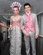 Model Kebaya Pernikahan Artis Modern Terbaru