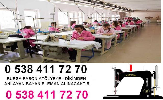 bursa iş ilanları tekstil ve konfeksiyon bursa iş ilanları