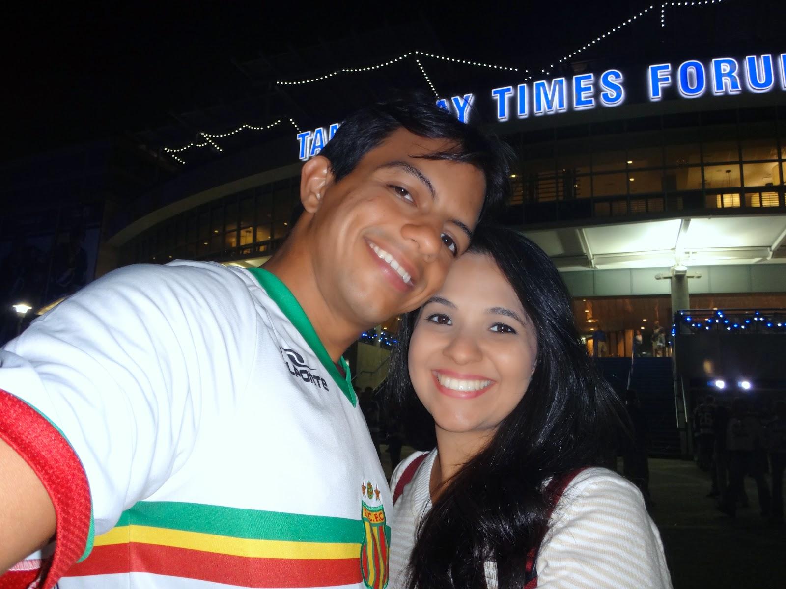 tampa bay times forum - jogo de hoquei - tampa, florida