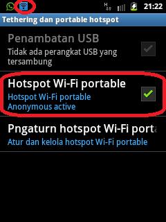 pengaturan hotspot wi-fi portable pada smartphone