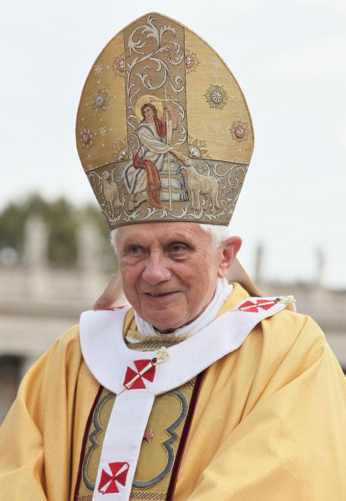 Pray for our Pope Emeritus Benedict XVI