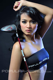 hot Stella Adiani Model BFN Majalah Popular World, Juni 2012