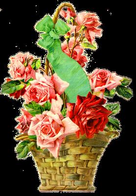 imágenes vintage flores