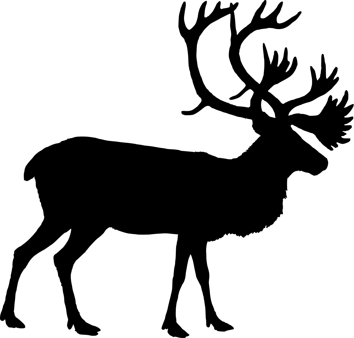 Image Result For Reindeer Free Coloring