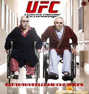Bantamwheelchair Champions. MMAFFUN