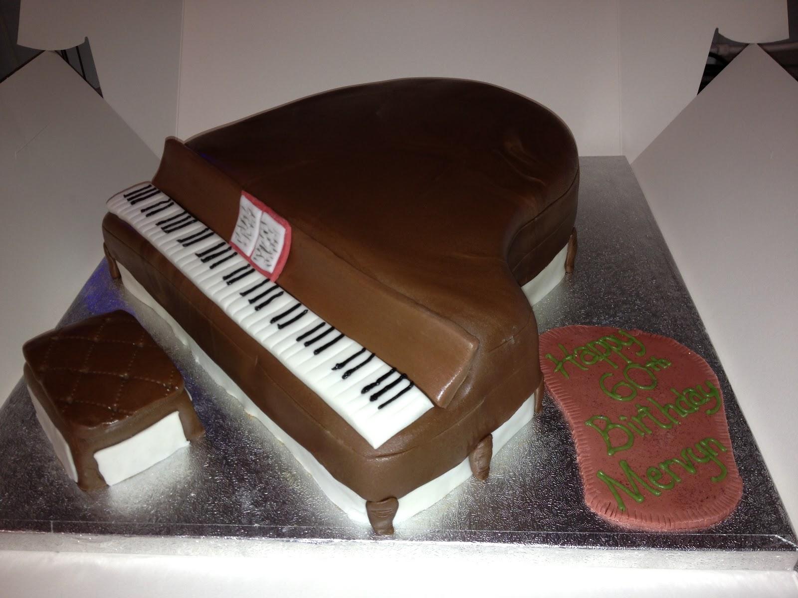Nicky's Cakes: Grand Piano Cake
