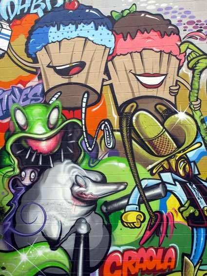 graffiti cartoon drawings