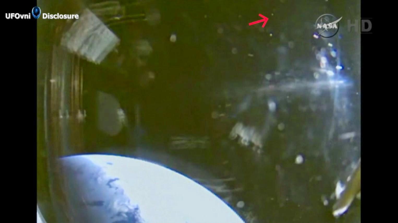 Dernières Nouvelles: OVNI près d'Orion de test en vol, le 5 décembre 2014