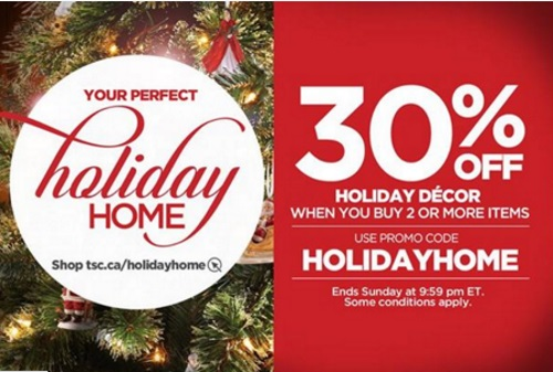 The Shopping Channel 30% Off Holiday Decor Promo Code