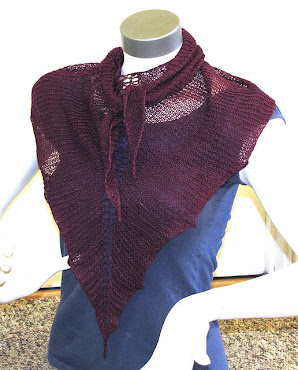 Dragon Tail Shawlette Pattern