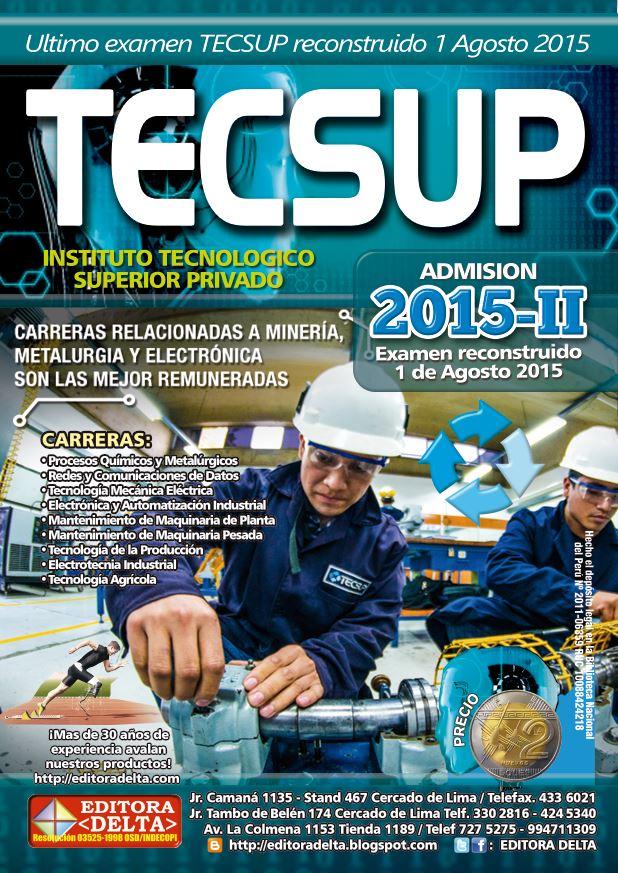 Examen TECSUP 2015-II