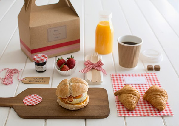 La chica de la casa de caramelo desayuno para llevar - Desayunos en casa ...