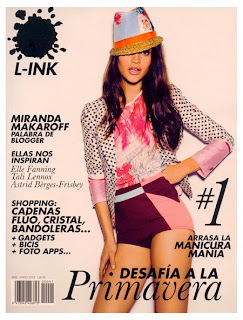L-INK numero 1 abril-mayo 201. Domingo Ayala Handmade