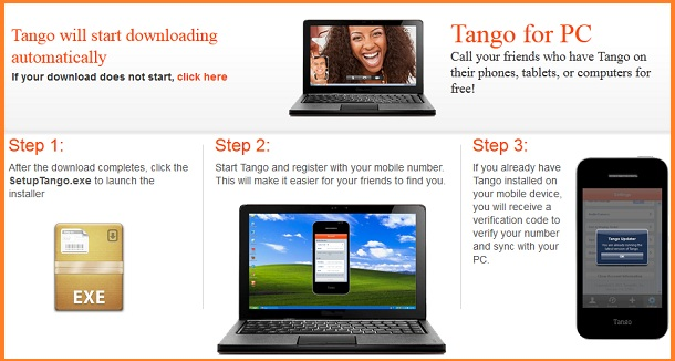 Tango App for PC Free Download