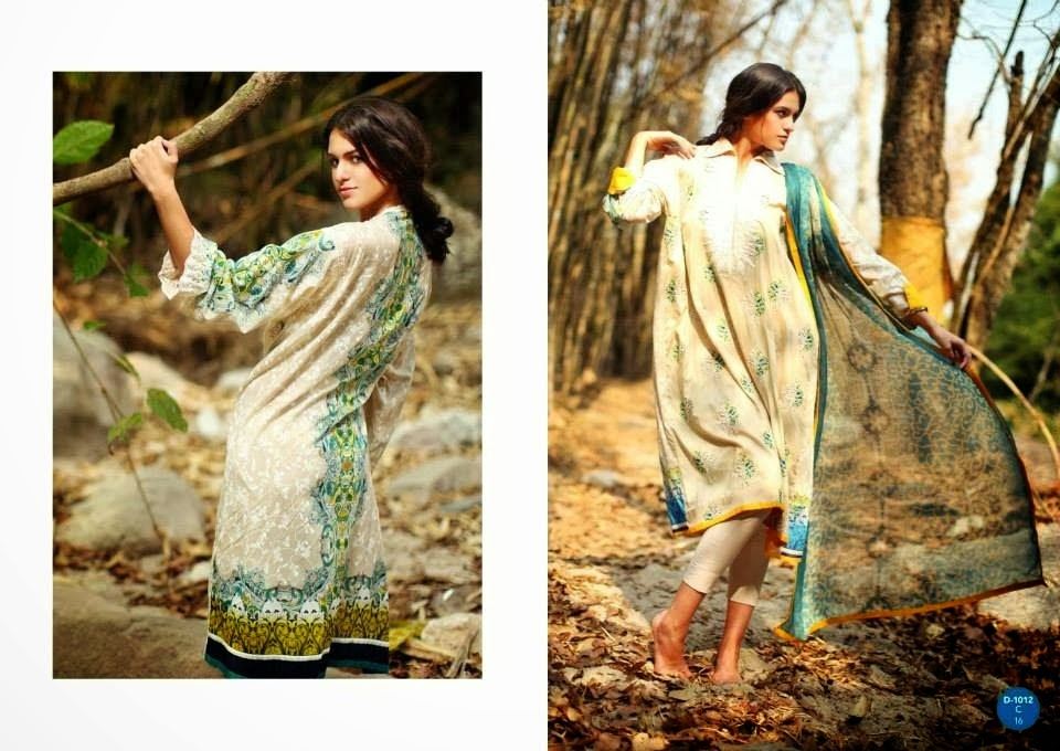 Latest Seasonal Lawn Collection 2014