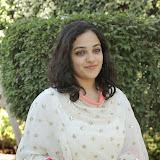 Nitya meenon Latest Photo Gallery in Salwar Kameez at New Movie Opening 20