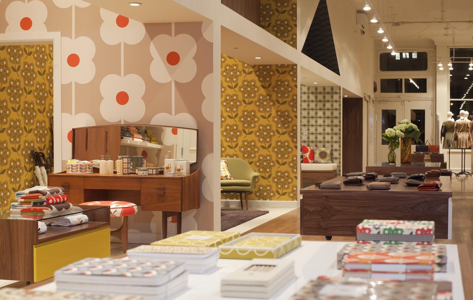 Shop Interior Design Orla Kiely Mercer Street New York - Eastern-design-office-designed-the-mostip-shoe-shop
