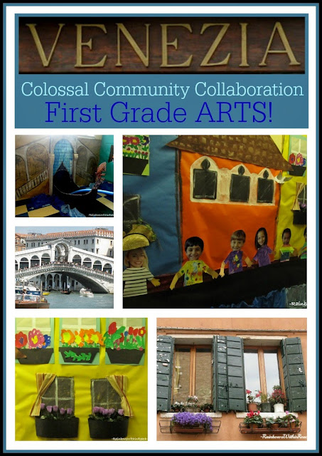 Colossal Community ARTS Collaboration: Venice through the Eyes of First Graders