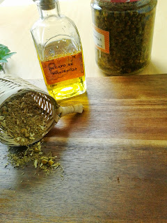 chamomile infused at home