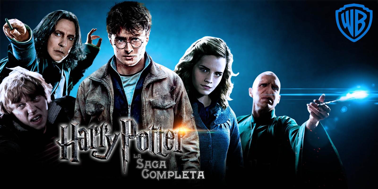 Resultado de imagen para Harry Potter Saga Completa