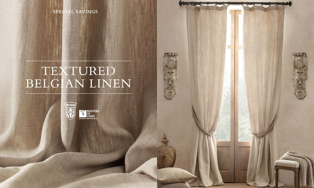 Hanging Shower Curtain From Ceiling Restoration Hardware Curt