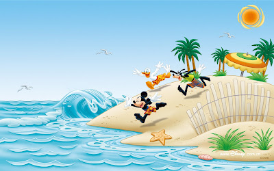 Wallpapers de Disney (Mickey Mouse y Daisy)