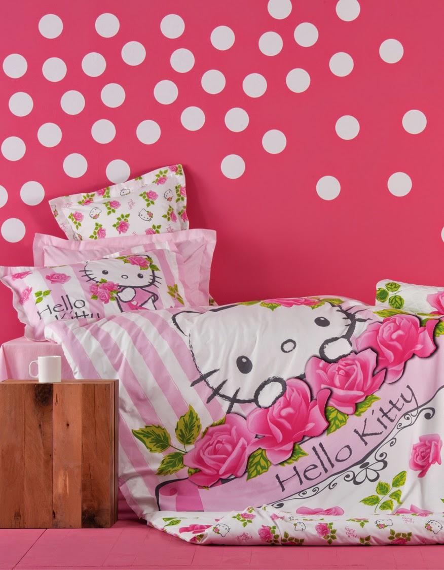 Karaca Home Hello Kitty Rose nevresimdunyasi