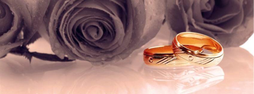 Couverture pour facebook bague de mariage