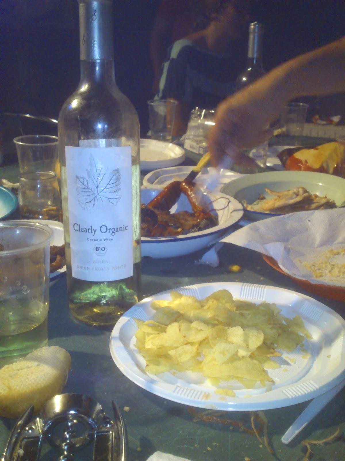 vino blanco ecológico