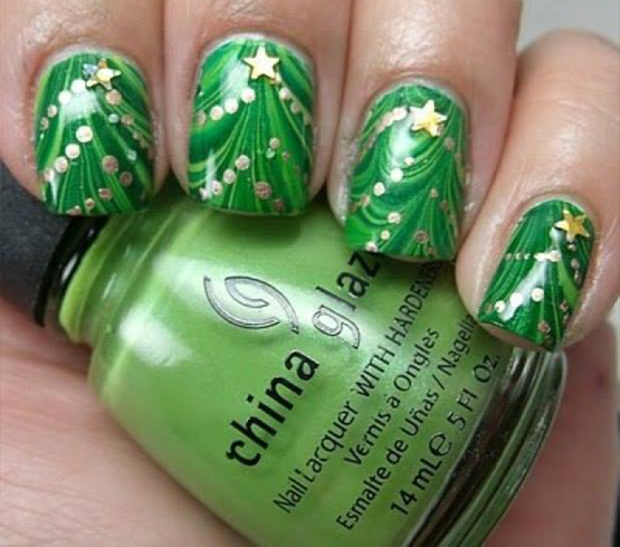 Nails Design Trends For Christmas