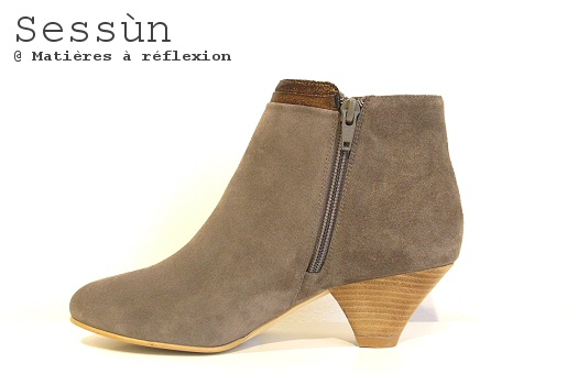 Low boots taupe Sessùn