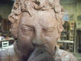 Escultura de Javier Garcés: copia del natural