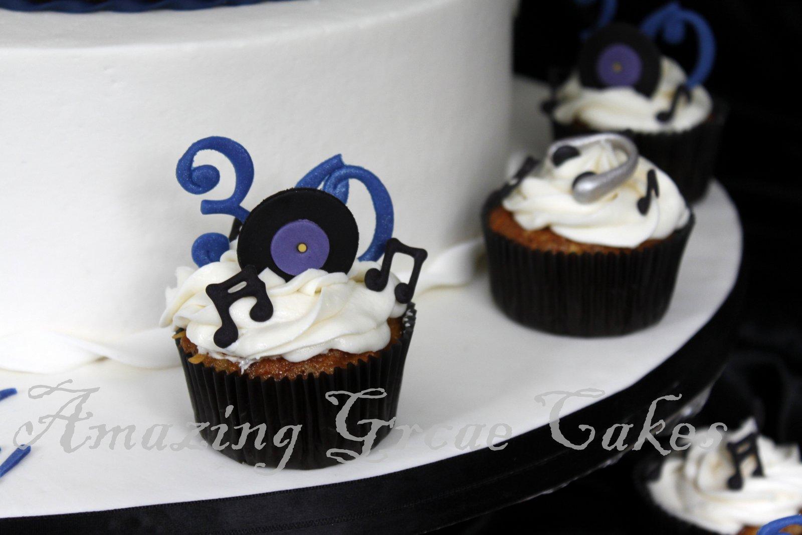 Amazing Grace Cakes DJs 30th Birthday