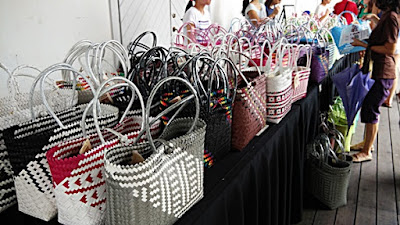Handwoven Baskets at BIBCo Kuching