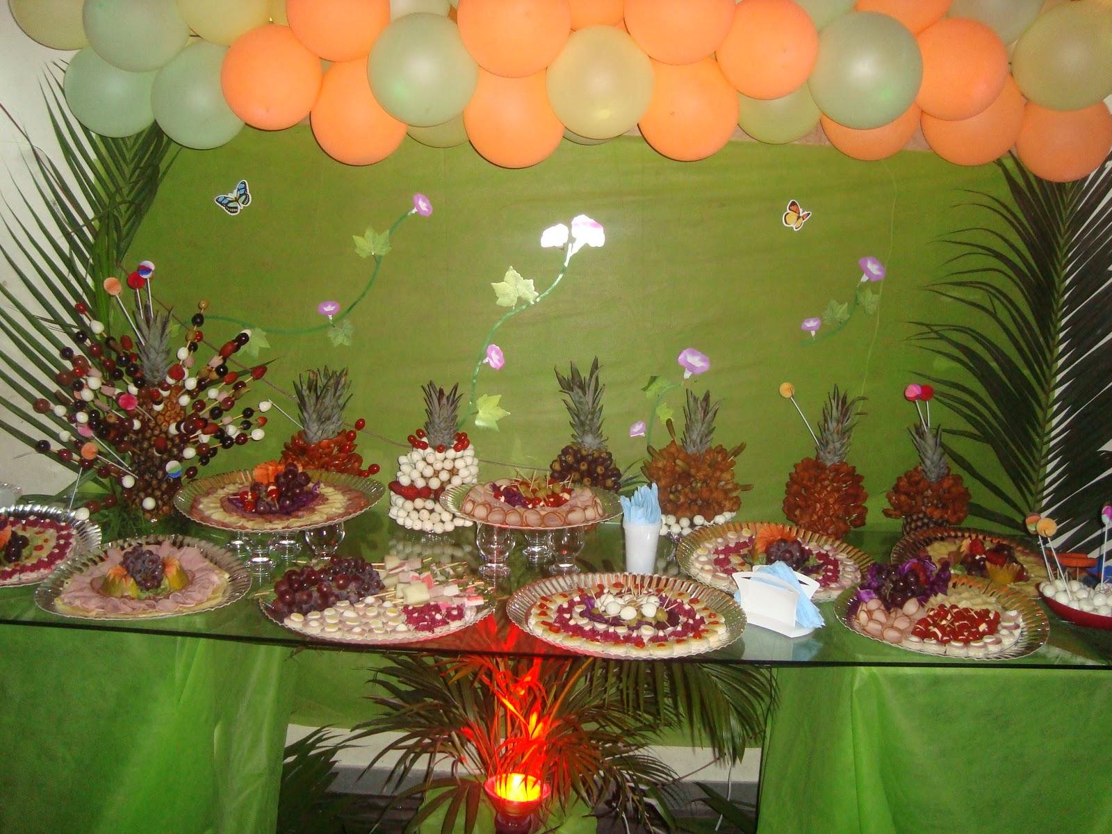 Lu Ferreira Eventos Decoraç u00e3o Festa Tropical # Decoração De Festa Havaiana Simples