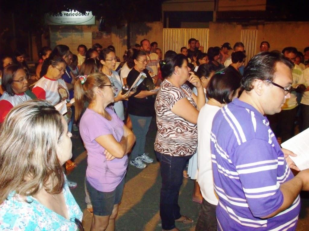 Imagens da Via Sacra ao Mirante São José