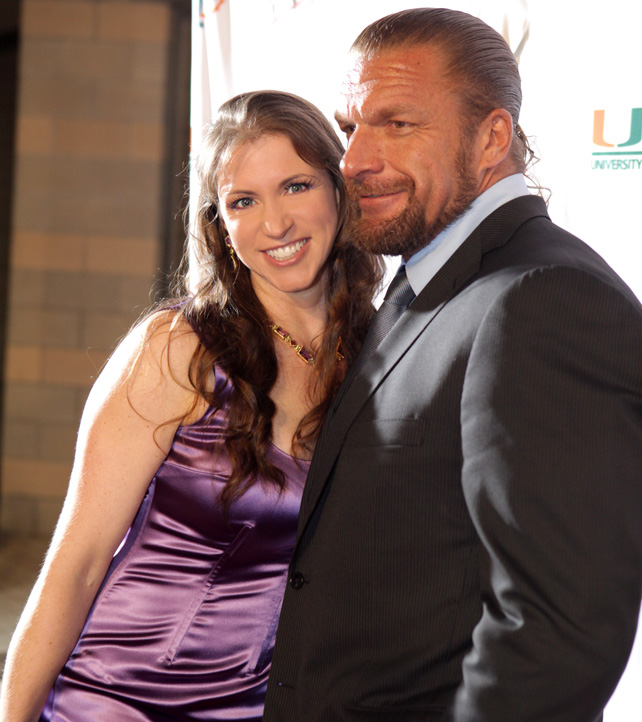 Latest News Update Hhh: Stephanie Mcmahon With Triple H Latest Pictures 2012-13