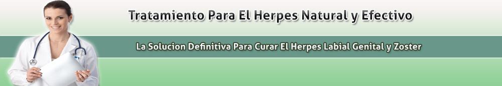Tratamiento Para El Herpes Natural y Efectivo
