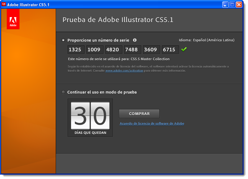 Adobe illustrator cs 11 serial key