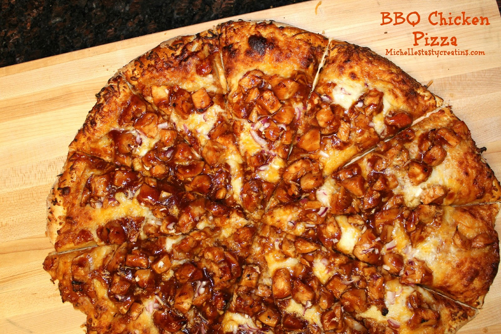 Michelle's Tasty Creations: BBQ Chicken Pizza